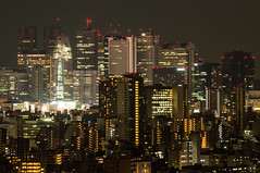 Shining bright Shinjuku view