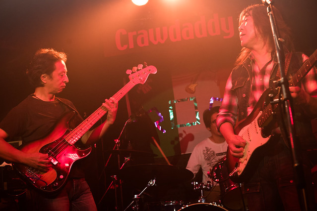 Rory Gallagher Tribute Festival - Little Wing live at Crawdaddy Club, Tokyo, 22 Oct 2016 -00084
