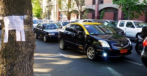 Nissan Sentra Taxi - Santiago, Chile