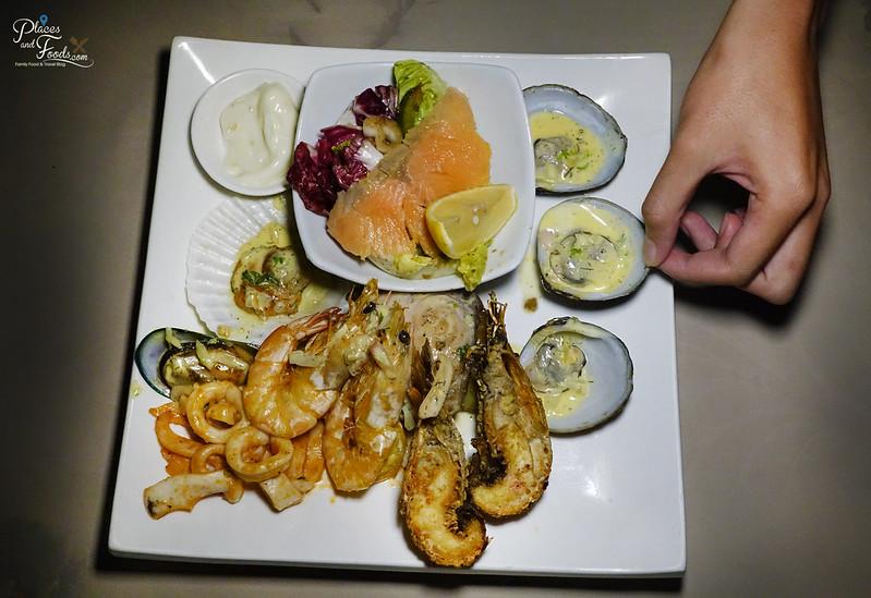 bubu resort seafood platter