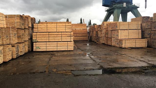 СБУ перекрила нелегальний експорт деревини через Херсонський річковий порт