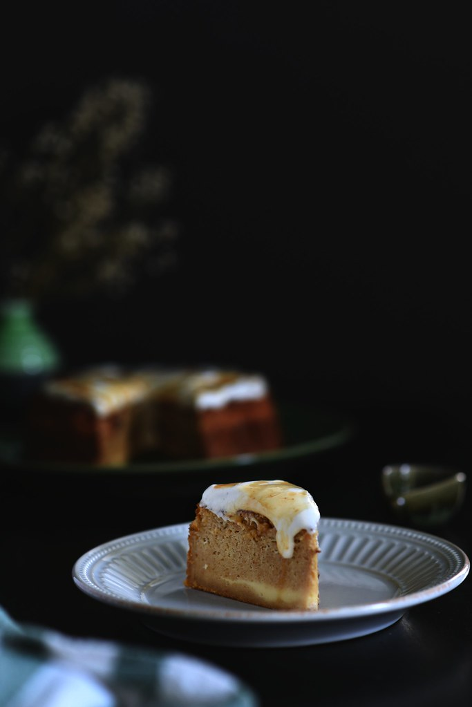Apple Cider Magic Cake