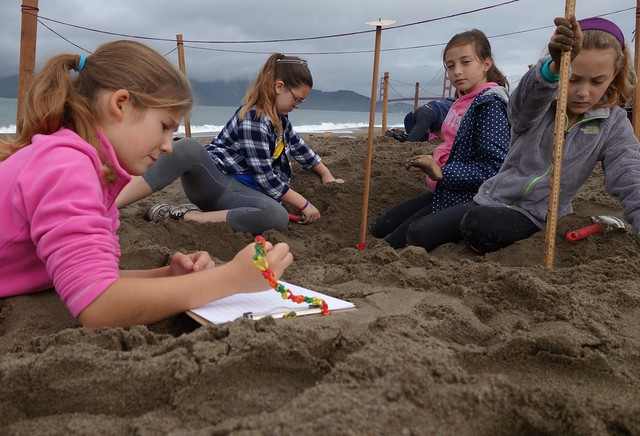 Gr. 6 Baker Beach Archaeological Dig