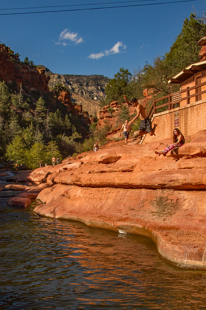 Slide Rock Leap