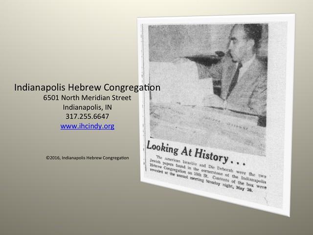 IHC Time Capsule 1957