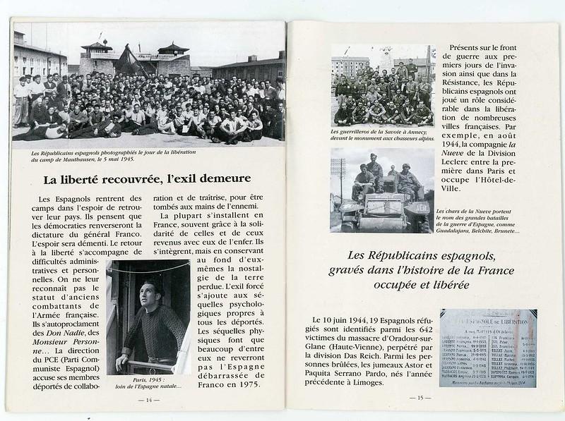 Les Républicains espagnols déportés de France 8
