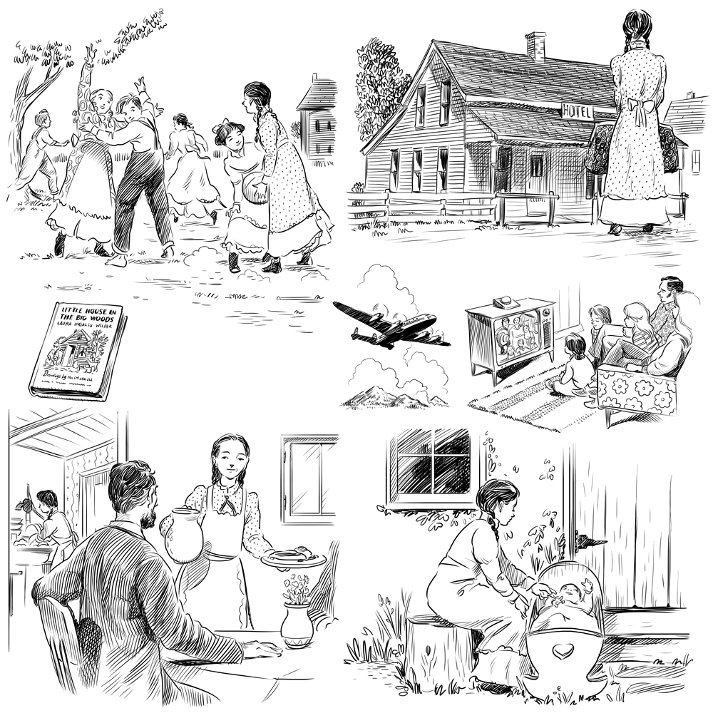 Coloring page laura ingalls wilder books coloring pages for Laura ingalls wilder coloring pages