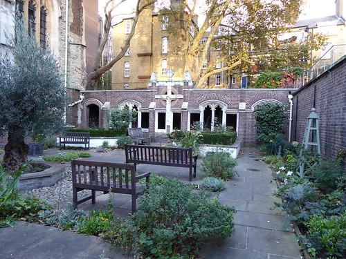 The Priory Church Cloister Garden