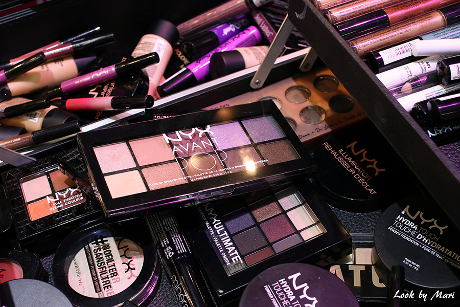 20 Nyx professionals makeup artist kit I love me fair messut
