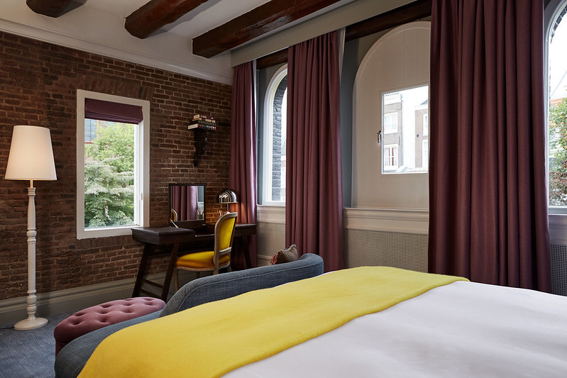 Grand King Guest Room at the Hotel Pulitzer Amsterdam