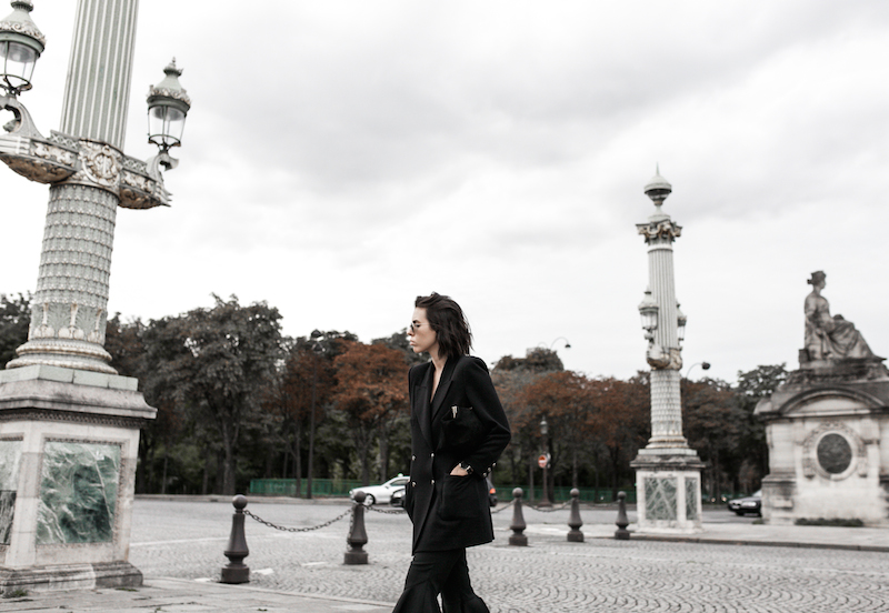 paris street style camel coat ellery flares gucci princetown fur loafers fashion blogger modern legacy (4 of 10)
