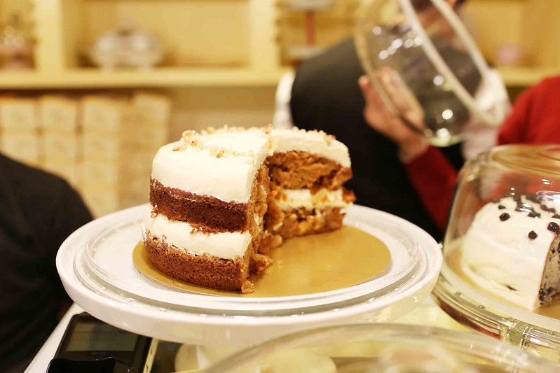 City Food - The Morally Appalling Carrot Cake, The Big Chill Cakery, Khan Market