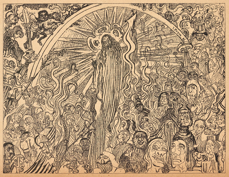 James Ensor - Christ in Hell