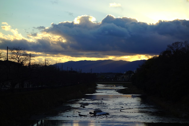 2016/12 松ヶ崎橋から #02