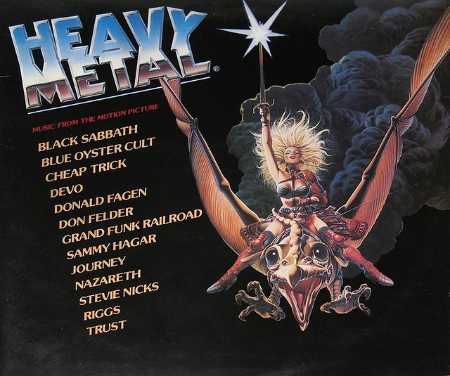 HEAVY METAL MUSIC FROM THE MOTION PICTURE