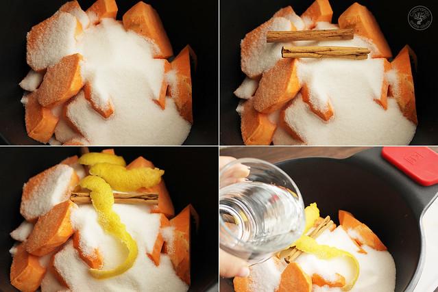 Batatas en almibar www.cocinandoentreolivos.com