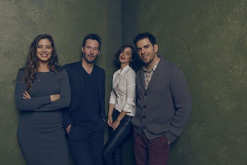 Knock Knock - Promo Photo 2 - Lorenza Izzo, Keanu Reeves, Ana de Armas, Eli Roth