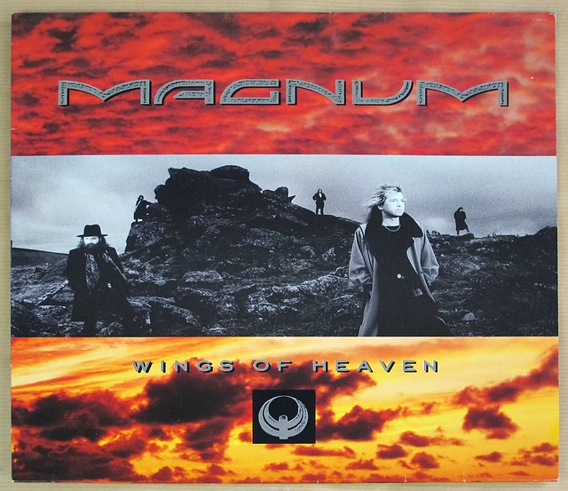 "MAGNUM WINGS OF HEAVEN 12"" LP VINYL"