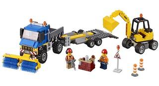 60152 Sweeper & Excavator