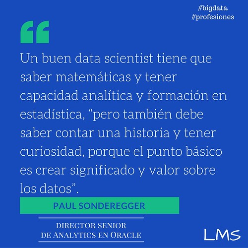 El buen Data Scientist