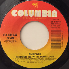 SURFACE:SHOWER ME WITH YOUR LOVE(LABEL SIDE-A)