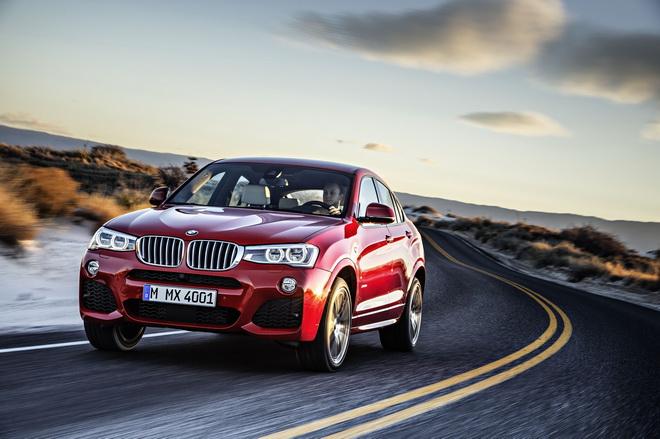 【新聞照片二】「2017新車大展」BMW展出車型-BMW X4