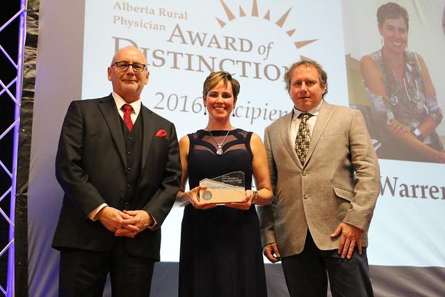 2016 Award of Distinction Celebration honouring Dr. V.M. Warren, Sundre