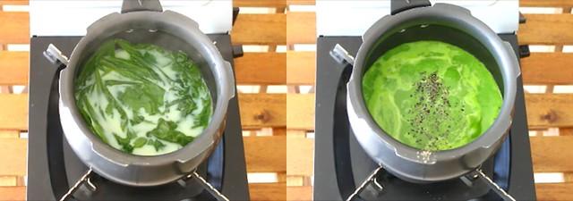 palak soup 4
