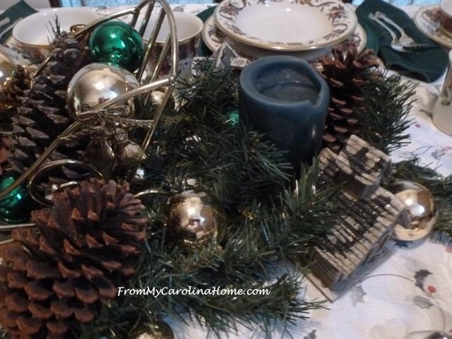 Christmas Tablescape ~ From My Carolina Home