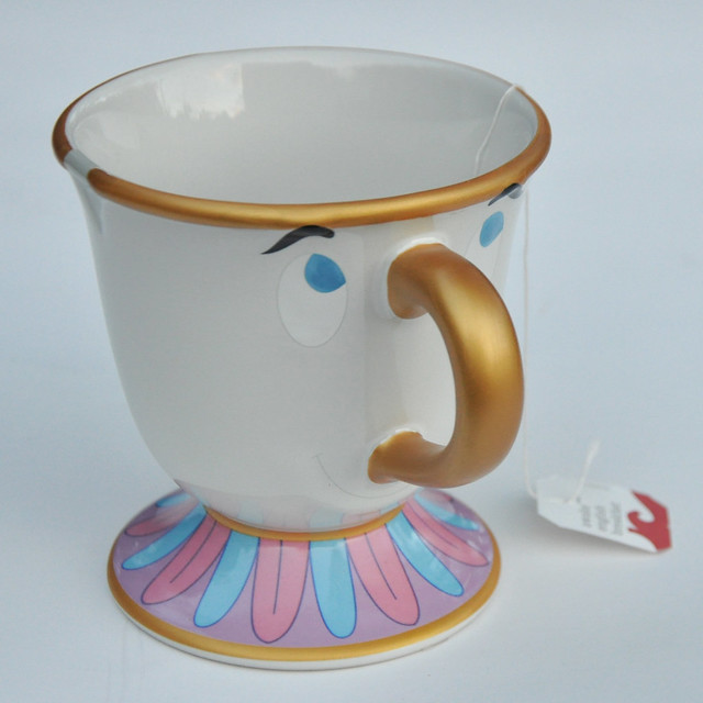 Beauty and the Beast teacup