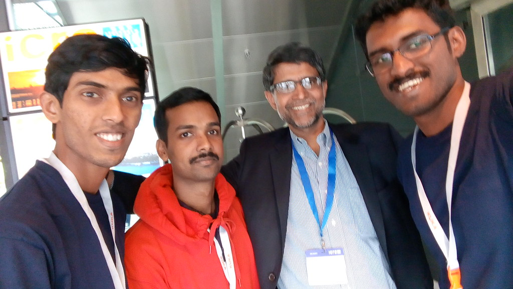 Team Autobots with Prof. Vijay Kumar