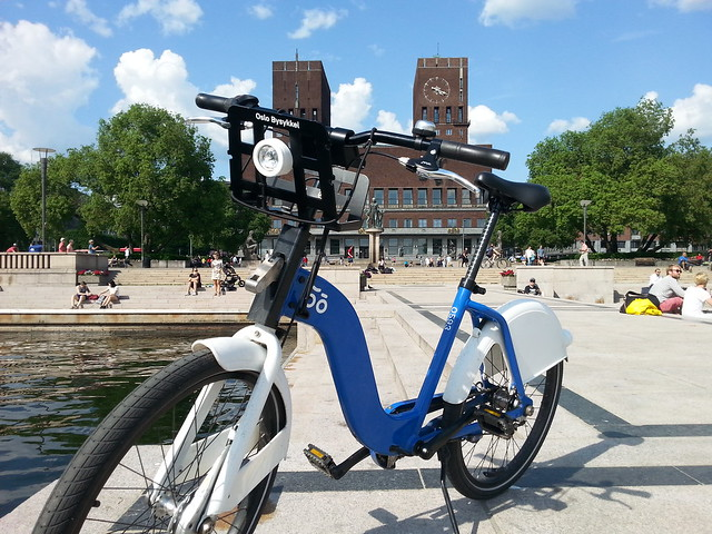 Oslo City Bike and Brunost