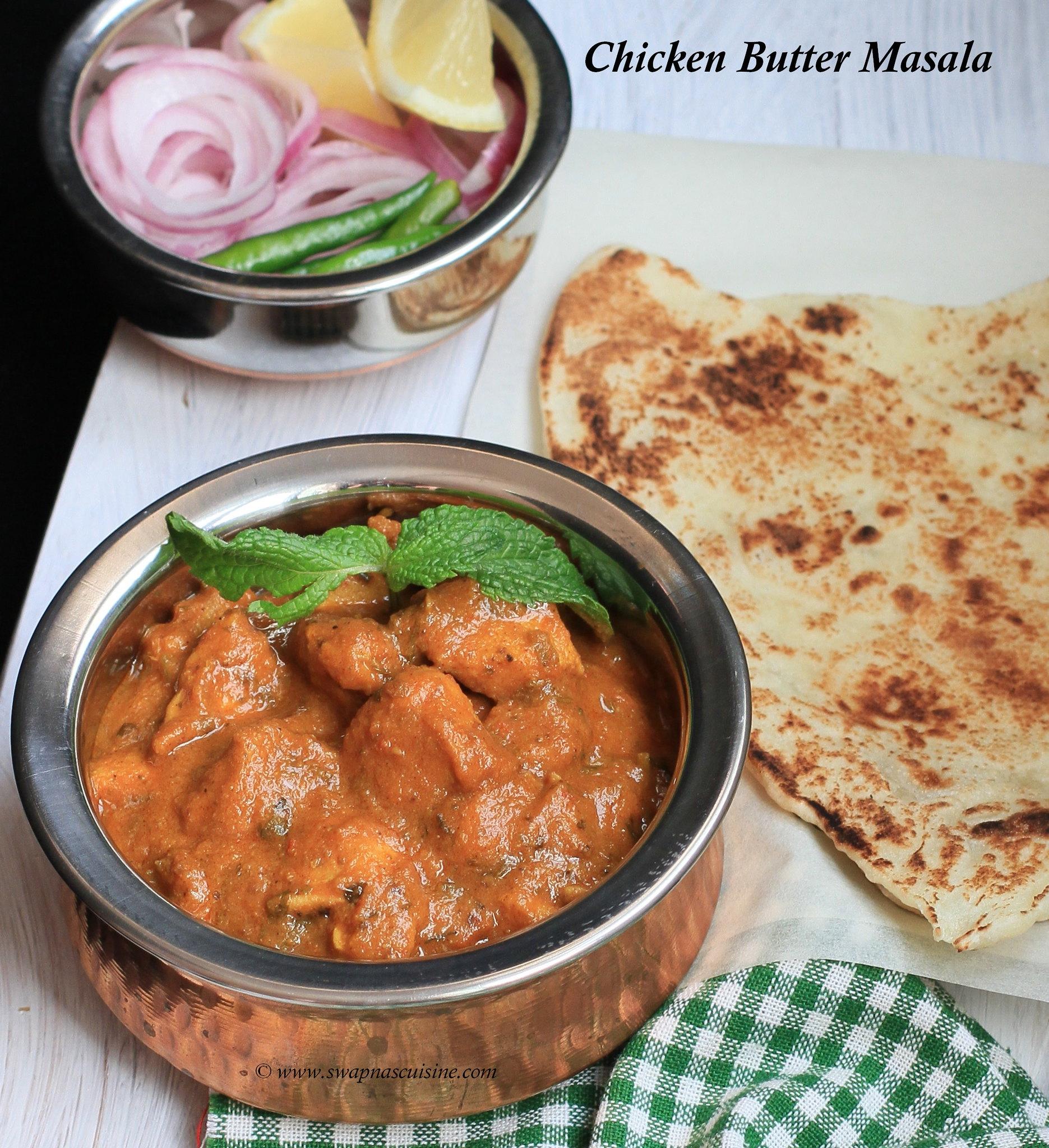 Murgh Makhani Masala Recipe