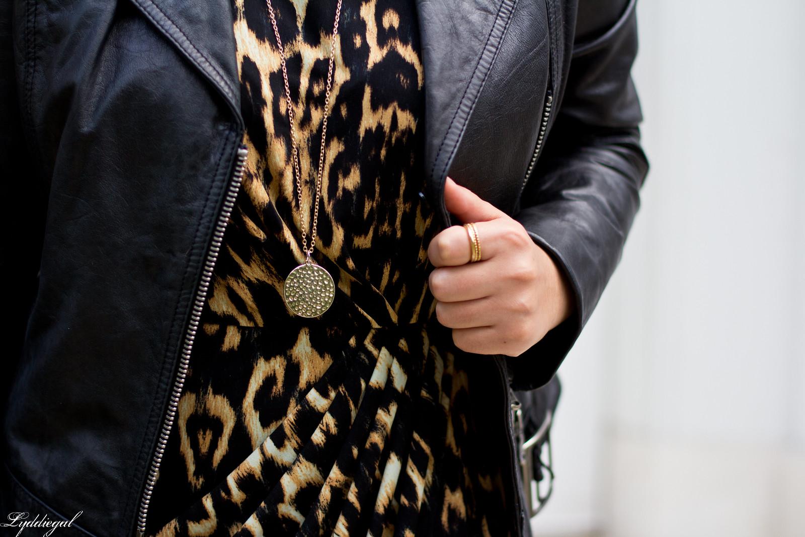 leopard dress, leather moto jacket, strappy heels-9.jpg