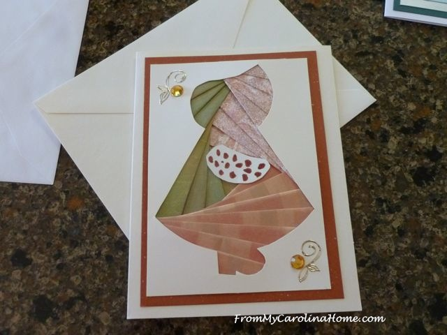 Iris Folded Cards ~ From My Carolina Home