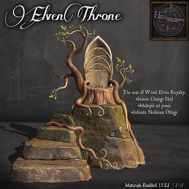 *HEXtraordinary* Elven Throne