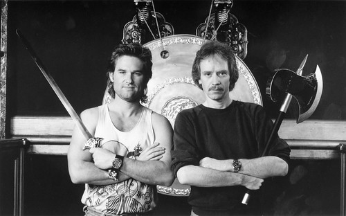 Big Trouble in Little China - Backstage 1 - Kurt Russell and John Carpenter