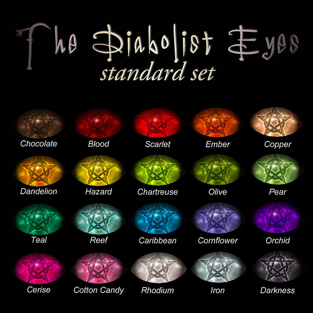 Devae. Diabolist Eyes (standards)