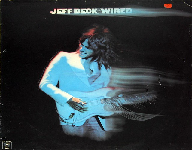 "Jeff Beck Wired 12"" vinyl LP"