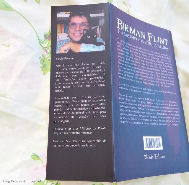 sobre-o-autor, Resenha, livro, Birman-Flint-e-o-mistério-da-pérola-negra, Sergio-Rossoni, Chiado-Editora, capa, fotos, opiniao, critica, romance-policial