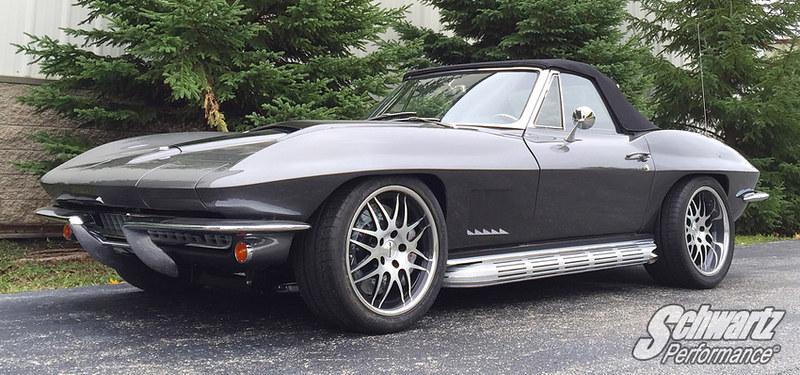 1963 1964 1965 1966 1967 C2 Corvette Chassis Suspension System ...