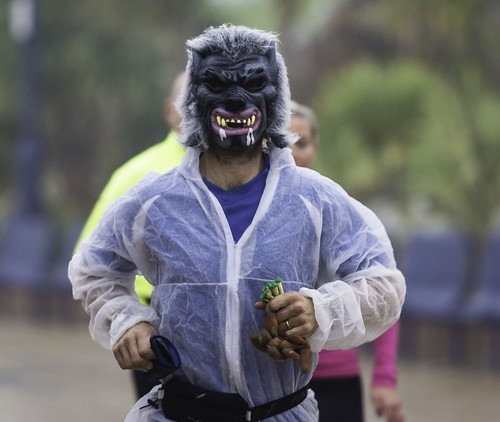 The resident Wolfman (Kevin Moore)