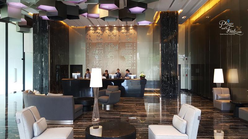 compass skyview hotel bangkok lobby