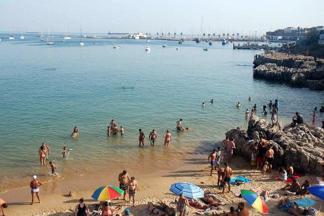 Portogallo, spiaggia di Cascais (1)