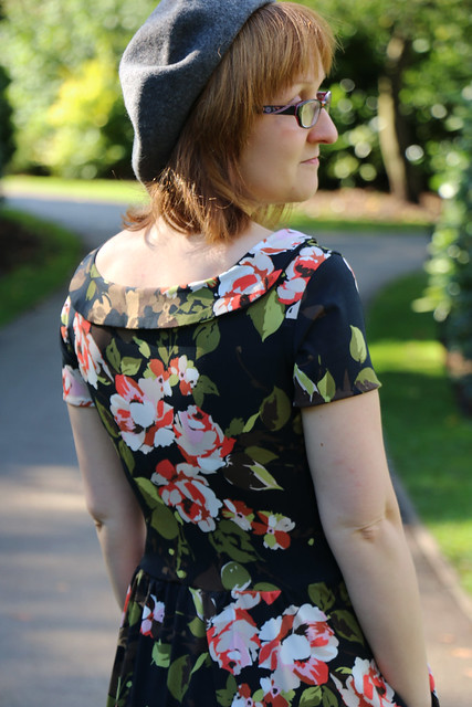 Colette Patterns Moneta in John Kaldor Floral Jersey