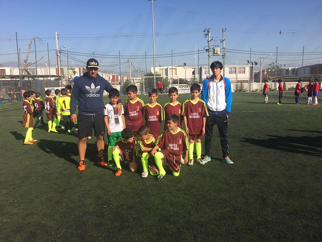 Salida Equipo de Futbol