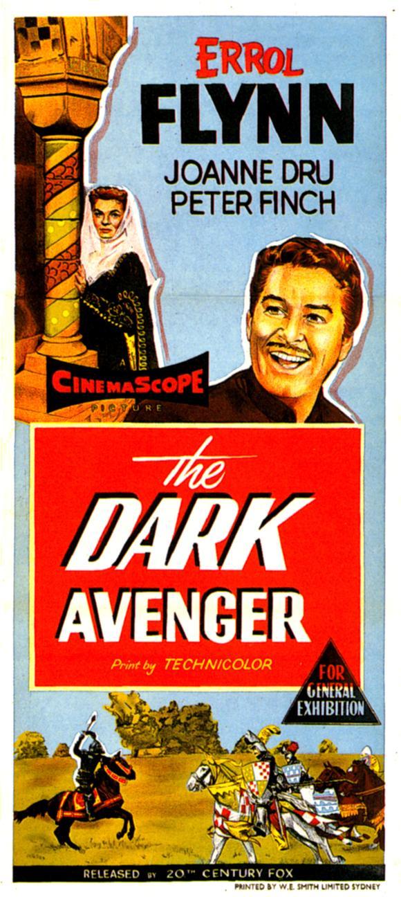 The Dark Avenger - Poster 1