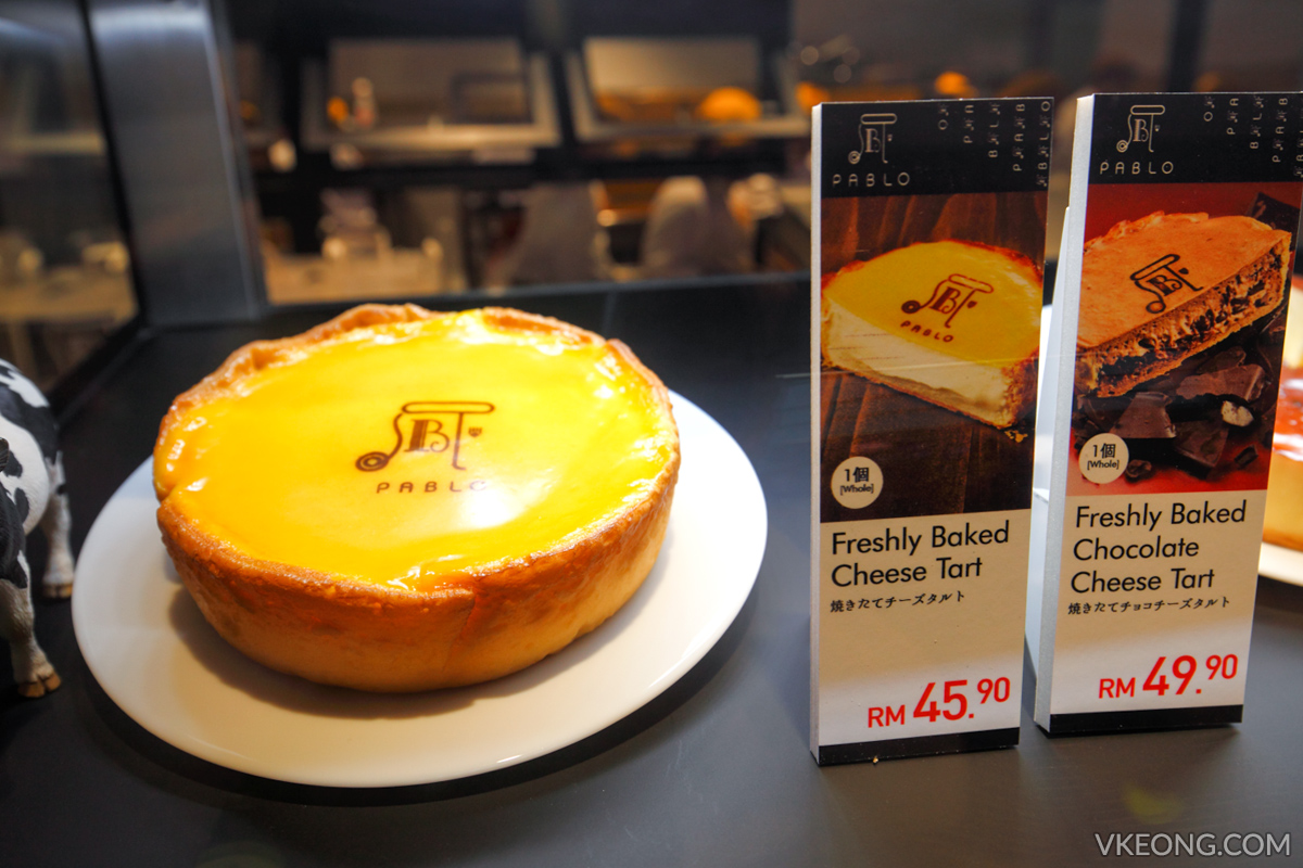 Pablo Cheese Tart 1 Utama Price