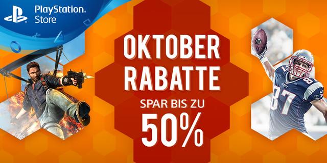 Oktober-Rabatte