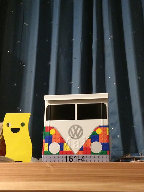 Lego Porch Mailbox by TheBusBox
